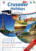 Crusader Holidays - UK and Europe brochure cover from 23 January, 2015