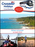 Crusader Holidays - UK and Europe brochure cover from 24 September, 2013