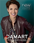 Damart brochure cover from 01 July, 2016