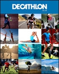 Decathlon Sports Gear brochure cover from 19 February, 2016
