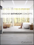 Designer Bathroom Concepts brochure cover from 21 March, 2018