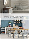 Designer Tile Concepts brochure cover from 21 March, 2018