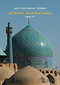 Distant Destinations - Ace Cultural Tours brochure cover from 08 July, 2016