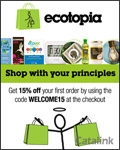 Ecotopia - Eco-Friendly Shopping brochure cover from 05 May, 2016