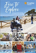 Enable Accessible Holidays brochure cover from 09 January, 2017