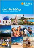 Enable Accessible Holidays brochure cover from 05 August, 2014