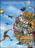 Enjoy Staffordshire brochure cover from 14 December, 2011