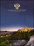 Golden Eagle Luxury Trains - Hellenic Treasures brochure cover from 26 April, 2017