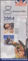 Gourmet Gifts to Britain catalogue cover from 24 November, 2004