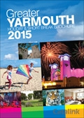 Visit Greater Yarmouth brochure cover from 02 December, 2014