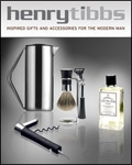 Henry Tibbs - Luxury Mens Gifts brochure cover from 20 August, 2010