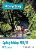 HF Holidays Cycling brochure cover from 27 October, 2015