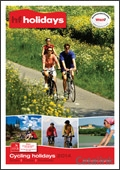HF Holidays Cycling brochure cover from 17 December, 2014