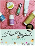 Skincare By Hive Originals brochure cover from 27 November, 2018