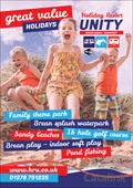 Holiday Resort Unity brochure cover from 23 September, 2015