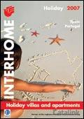Interhome Spain & Portugal brochure cover from 04 January, 2007