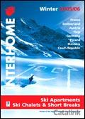 Interhome Skiing Holidays brochure cover from 18 January, 2006