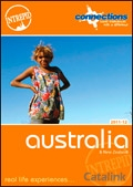 Intrepid Australia & the Pacific brochure cover from 11 November, 2010