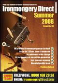 Ironmongery Direct brochure cover from 05 August, 2008