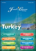 Jewel in the Crown Holidays - Turkey brochure cover from 21 March, 2011
