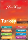 Jewel in the Crown Holidays - Turkey brochure cover from 30 August, 2011