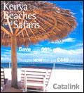 Kenya Beaches and Safaris catalogue cover from 21 January, 2008