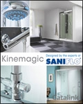 Kinemagic - Bathroom & Showers brochure cover from 11 September, 2015