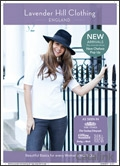 Lavender Hill Clothing brochure cover from 07 November, 2017
