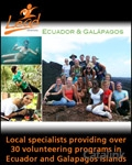 LEAD Adventures - Ecuador & Galapagos brochure cover from 10 January, 2012