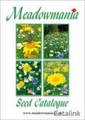 Meadowmania Seeds brochure cover from 17 February, 2015