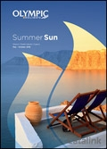 Olympic Holidays - Summer Sun brochure cover from 09 March, 2016