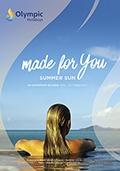 Olympic Holidays - Summer Sun brochure cover from 15 December, 2016