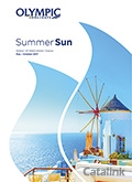 Olympic Holidays - Summer Sun brochure cover from 28 July, 2016