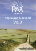 Pax Travel brochure cover from 15 June, 2010