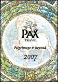 Pax Travel brochure cover from 02 February, 2007