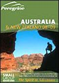 Peregrine Adventures - Australia & New Zealand brochure cover from 20 December, 2007