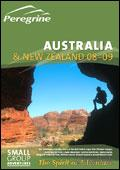 Peregrine Adventures - Australia & New Zealand brochure cover from 07 January, 2008