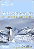 Peregrine Adventures Antarctica & High Arctic brochure cover from 03 October, 2007