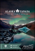 Planet Cruise - Alaska and Canada brochure cover from 12 March, 2018
