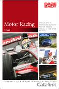 Page & Moy Motor Racing Second Edition brochure cover from 13 May, 2009