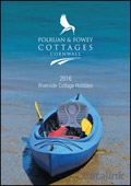Polruan Cottages Cornwall brochure cover from 08 February, 2016