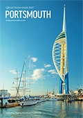 Visit Portsmouth brochure cover from 06 December, 2016