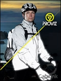Proviz Reflective Clothing brochure cover from 04 April, 2018