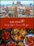 Pure Spain - Spanish Cuisine & Products brochure cover from 11 March, 2019