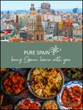 Pure Spain - Spanish Cuisine & Products brochure cover from 13 March, 2019