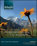 Adagio Walking Holidays brochure cover from 19 October, 2012