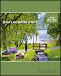 Ramblers Countrywide Holidays brochure cover from 29 October, 2012