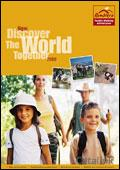 Ramblers Family Walking Adventures brochure cover from 08 April, 2008