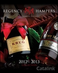 Regency Hampers catalogue cover from 18 February, 2013