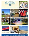 Richardsons Norfolk Holiday Village brochure cover from 13 September, 2016